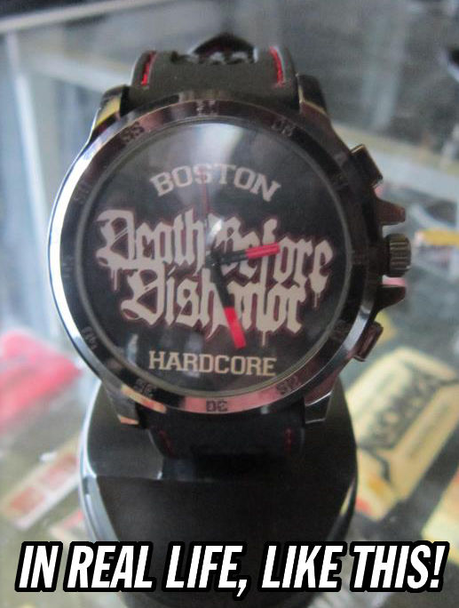 Death Before Dishonor - Boston Hardcore watch