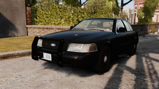 Ford Crown Victoria 2008 FBI