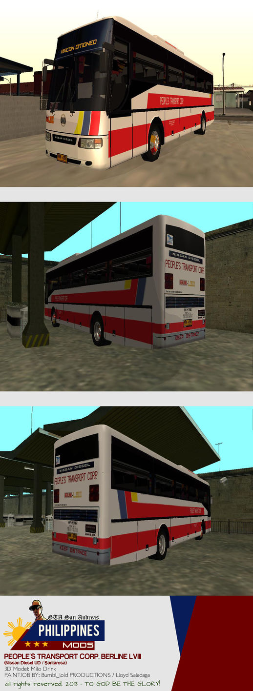 Nissan Diesel UD / Santarosa - People's Transport Corporation Berline LVIII
