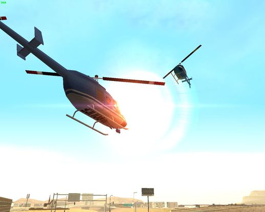 Artwork Police Chopper