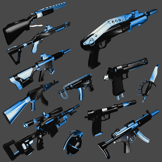 Fulmicotone Weapon Pack I