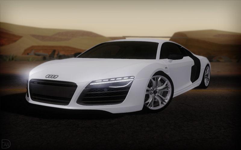 Gta San Andreas 2014 Audi R8 V10 Plus Mod Gtainside Com