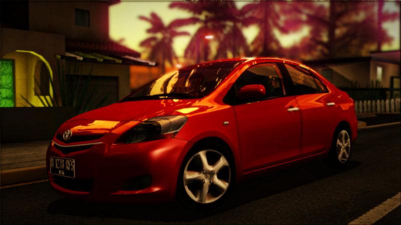 Gta San Andreas 2008 Toyota Vios Yaris Sedan Mod