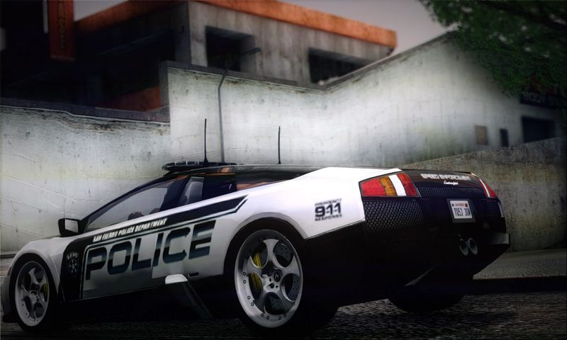 Gta San Andreas Lamborghini Murcielago Police 2005 Mod Gtainside Com