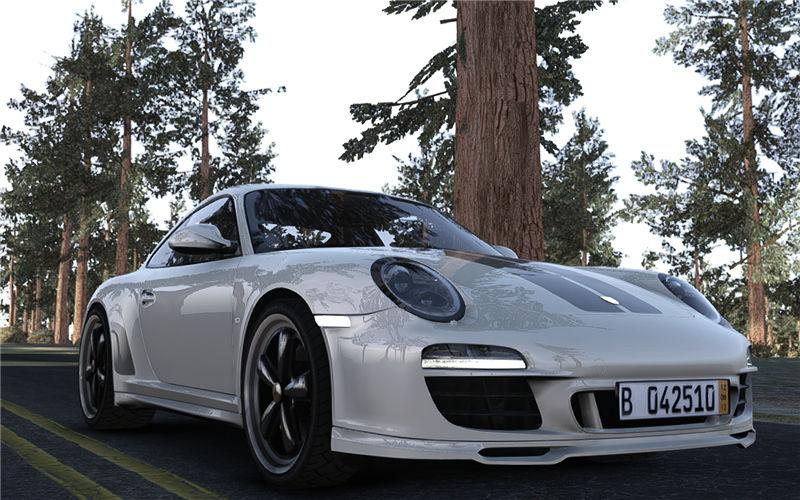Gta 4 2010 Porsche 911 Sportclassic Mod Gtainside