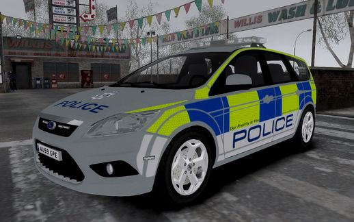 2009 Ford Focus Estate Norfolk Constabulary