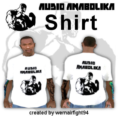 Fler Audio Anabolika Shirt