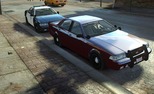 GTA V Unmarked Police Cruiser