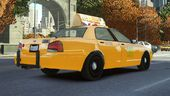 GTA V Taxi with Liberty City texture