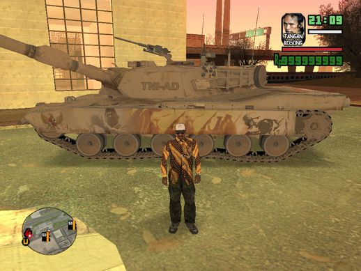 Abrams Tank Indonesia Edition