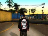 La Coka Nostra Black Windbreaker