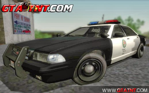 GTA V Police Car Pack