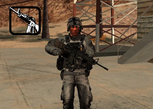BF3 US Soldier