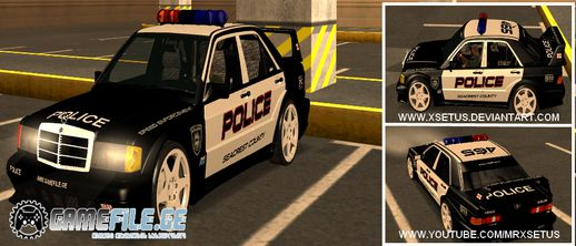 Mercedes Benz 190E Evolution Police