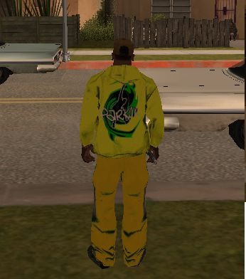 Yellow Green set with Parkour Logo
