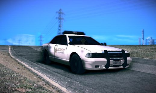 GTA V Sheriff Cruiser