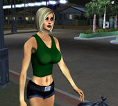 Grove Street Girl Ver1 and 2