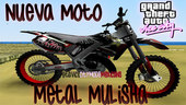Bike Moto Metal Mulisha y Rockstar