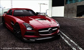 2013 Mercedes Benz SLS AMG Black Series