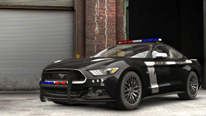 Ford Mustang Gt Police  Ford Mustang Gt Police