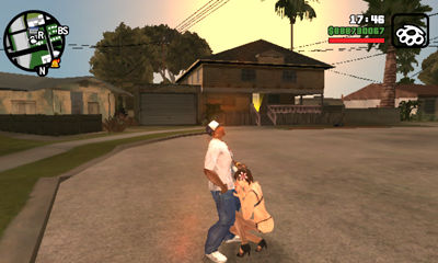 Grand theft auto san andreas sex mini game