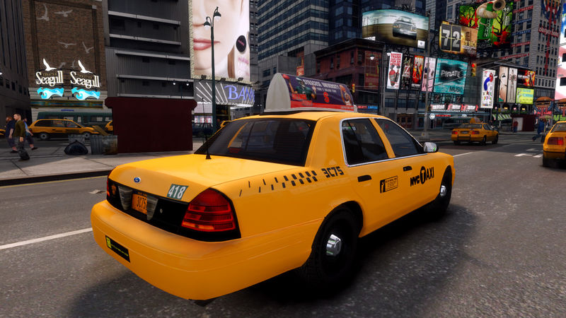 Скачать мод на гта 4 на такси