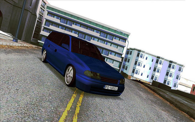gta san andreas opel astra f kombi mod. Black Bedroom Furniture Sets. Home Design Ideas