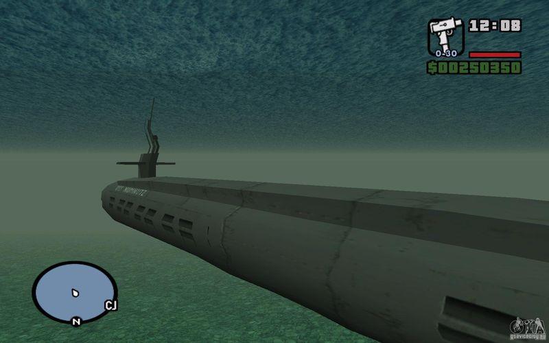подводная лодка samp
