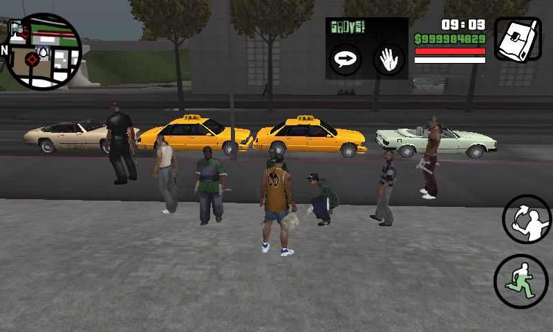 biggest gang in gta v