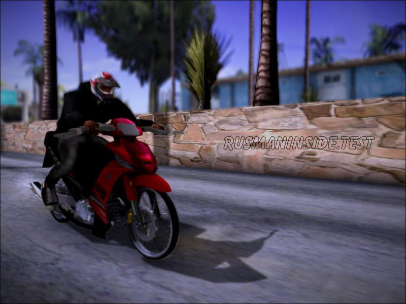 GTA San Andreas Yamaha Vega ZR Mod