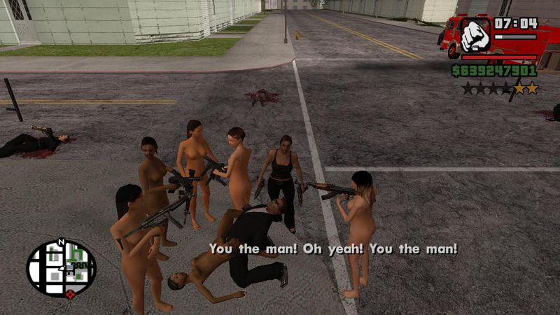 Grand Theft Auto San Andreas Sexuality