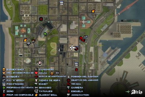 GTA San Andreas Detailed Map For Android Mod - GTAinside com