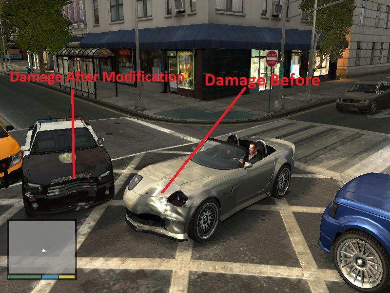 GTA 4 GTA V Vehicle Damage for GTA IV Mod - GTAinside com