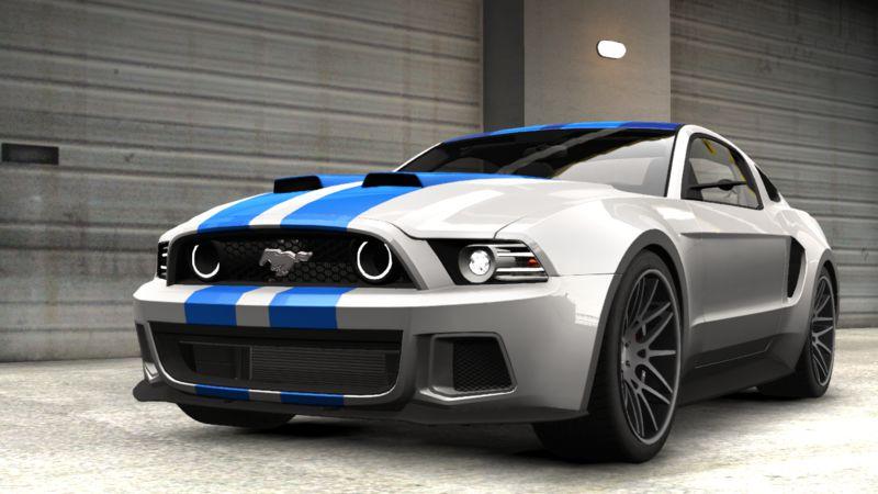 Gta 4 2013 Ford Mustang Gt Nfs Edition Mod Gtainside Com