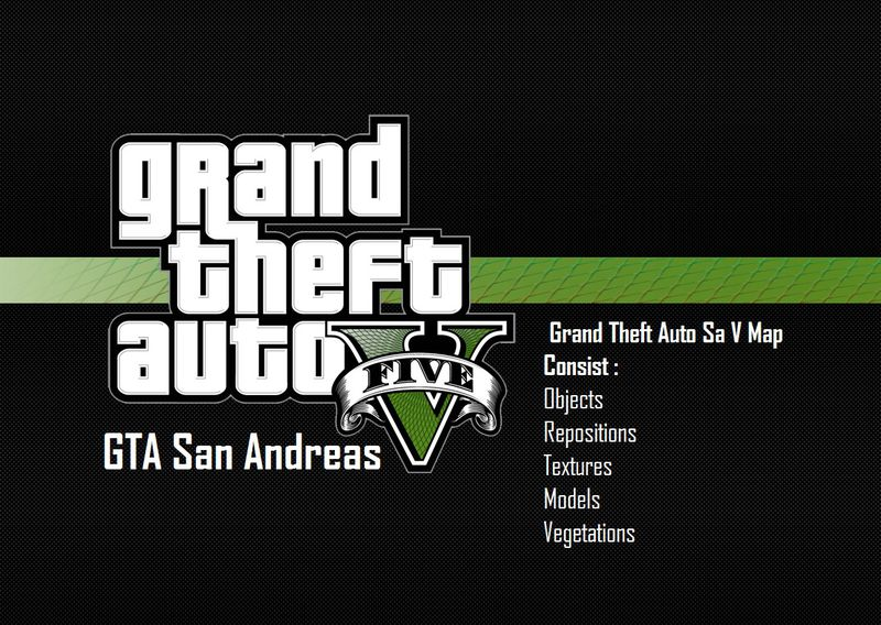 Gta San Andreas Gta V Textures For Gta Sa V2 Mod Gtainside Com