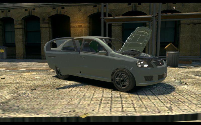 GTA 4 GTA V DeClasse Asea Mod - GTAinside.com