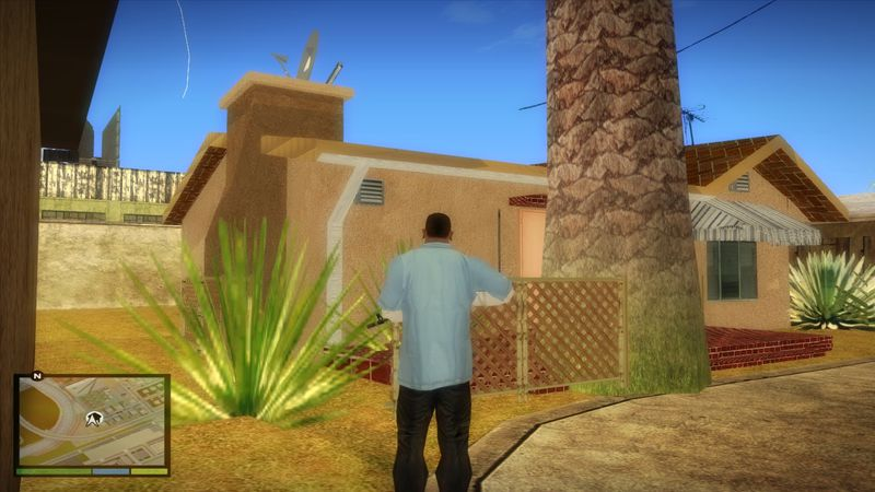 Gta San Andreas New Safehouse At Verdant Bluffs Mod