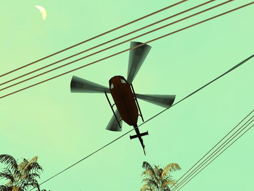 GTA SA Rotor Blades Version 1.0