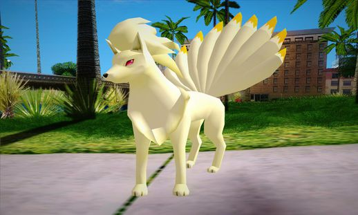 Ninetales Pokemon