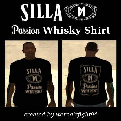 Silla Die Passion Whisky Shirt