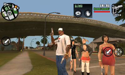 Call 3 Girl Bodyguard for Android