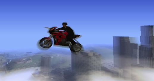 Fly Car and Motorbike