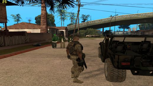 Call of Duty Mod (Chino Skin & Cars) + Ultimate Cheats Mod