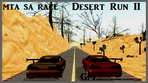 MTA SA Race Desert Run II