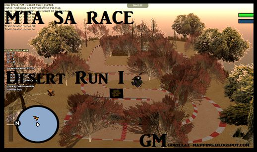 MTA SA Race Desert Run I