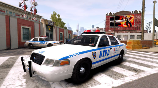 1999 Ford Crown Victoria NYPD