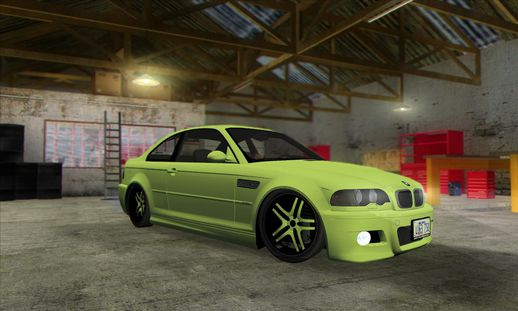 BMW e46 M3 Duocolor Edit