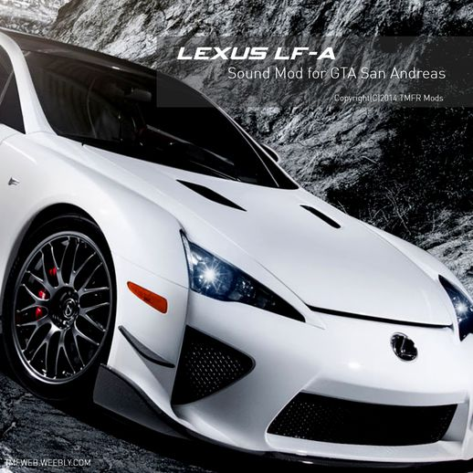 Lexus LFA Engine Sound
