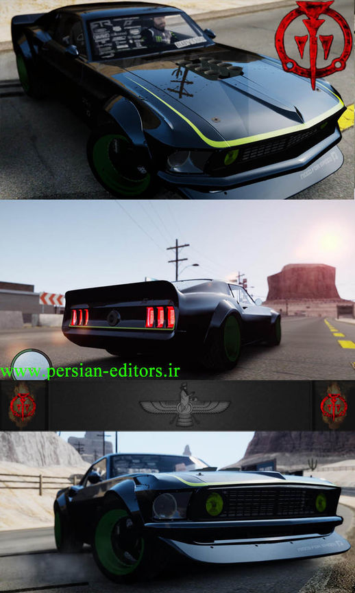 Ford Mustang RTRX Fixed