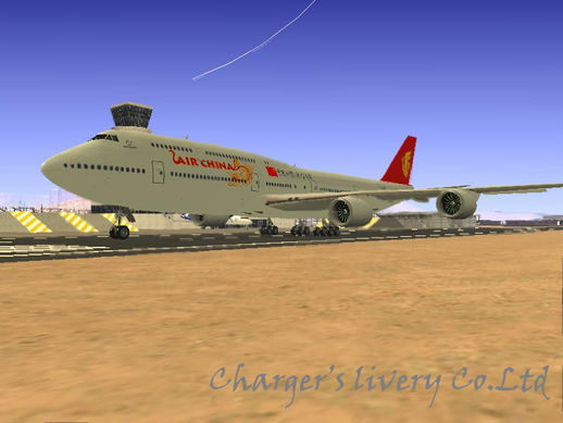 Boeing 747-8I Air China New Livery